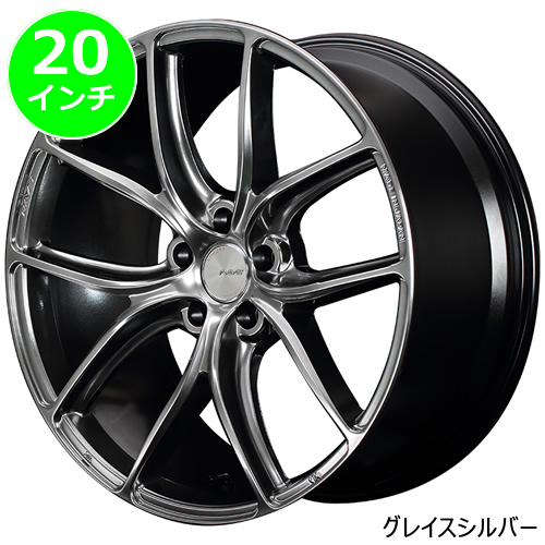 レクサス UX用 ホイール&タイヤセット(HOMURA 2×5 TW・20インチ)