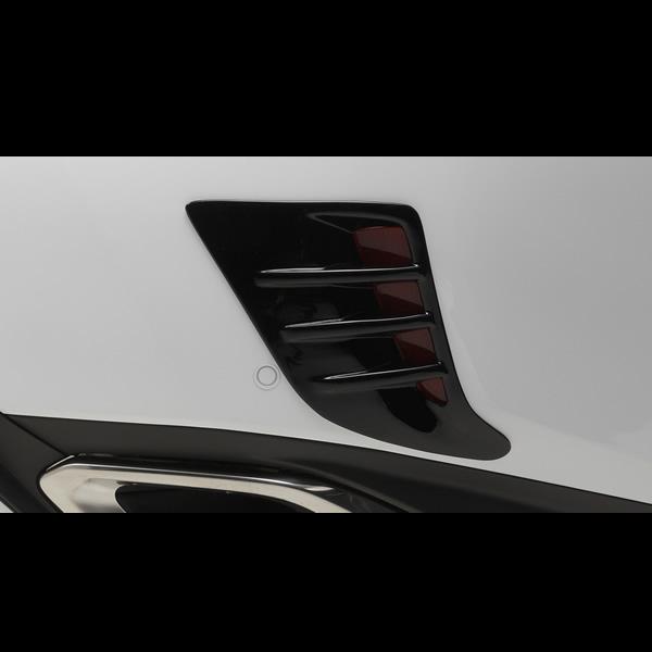 レクサス RX専用 リアバンパーリフレクターガーニッシュ
