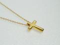 十字架ネックレスゴールド