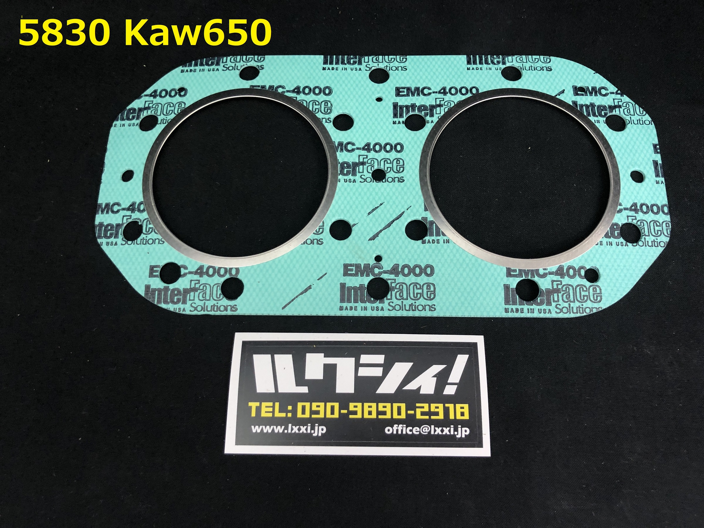 GASKET-TECHNOLOGY ガスケット KAWASAKI 650