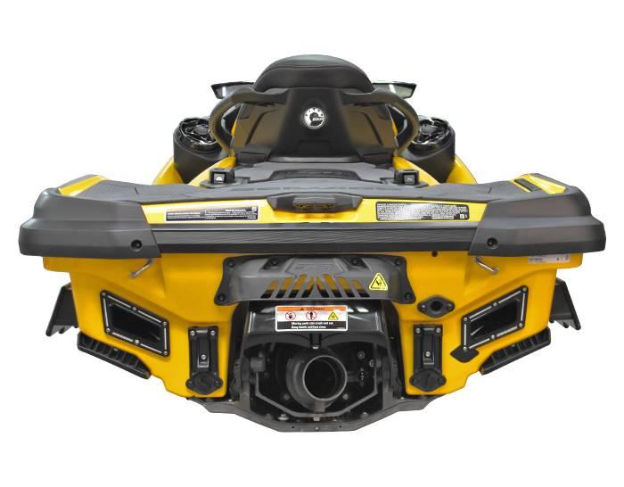 【RS15120-D】RIVA SEADOO RXT/GTX 300 DUAL REAR EXHAUST KIT