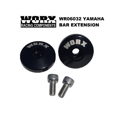 【WR06032】WORX YAMAHA ハンドルバーエクステンション
