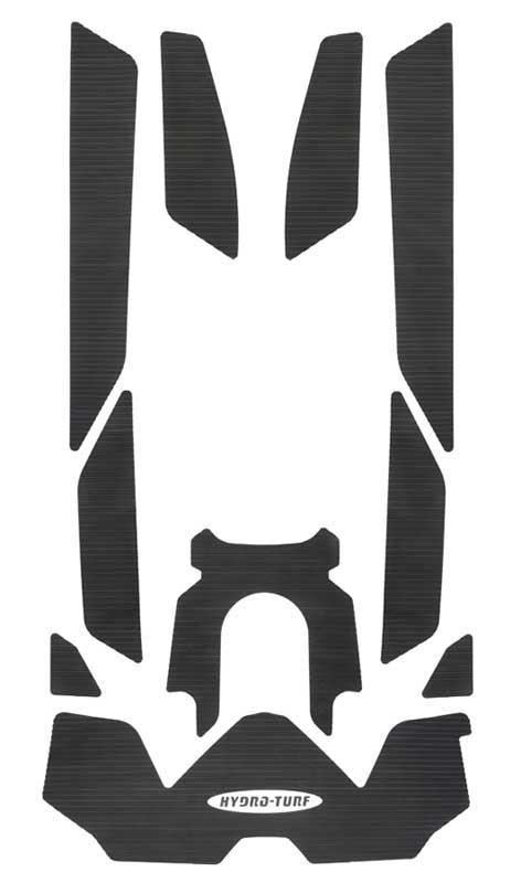 【HT893P】HYDRO-TURF MAT KIT デッキマット RXT230, GTX, GTX Ltd&Wake Pro 230 (18) 3Mテープ付