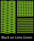 【SHT40CD-2TP-BKLG】HYDRO-TURF シートマット テープ付き ブラックxライムグリーン