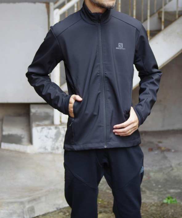 salomon/サロモン AGILE SOFTSHELL JACKET M
