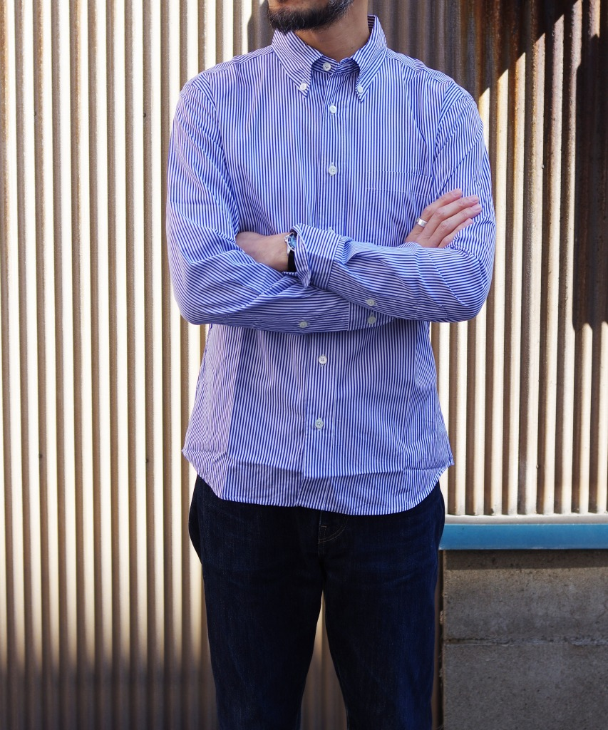 Manual Alphabet/マニュアルアルファベット 100/2 BROAD BD SHT/Suitable Fit - NAVY ST 【MAPSの定番】