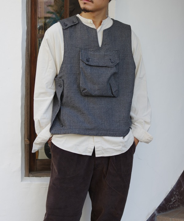 Engineered Garments/エンジニアド ガーメンツ Cover Vest - Glen Plaid Houndstooth