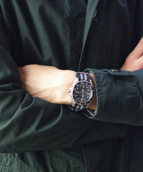 SMART TURNOUT/スマートターンアウト DIVERS WATCH - BLACK