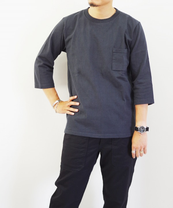 Jackman/ジャックマン Dotume 1/2 Sleeved T-Shirt (全3色)