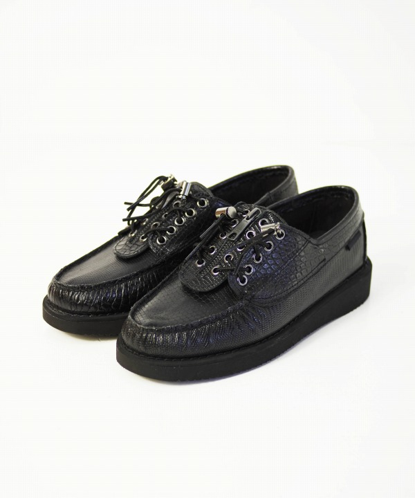 Engineered Garments x Sebago/エンジニアド ガーメンツ x セバゴ Zipperdeck Crocodile