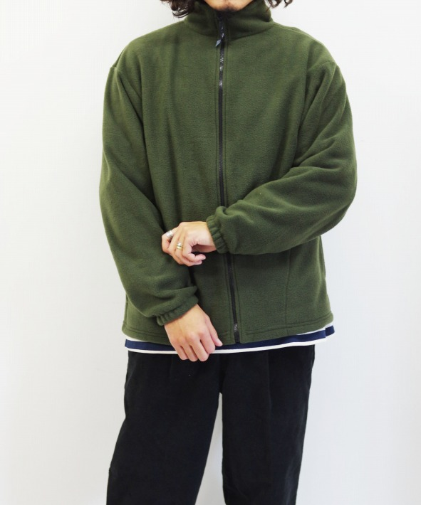 SPRING MOUNTAIN/スプリングマウンテン FLEECE FULL ZIP JACKET (全3色)