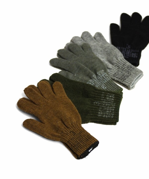 MILITARY/ミリタリー G.I. WOOL GLOVE LINER