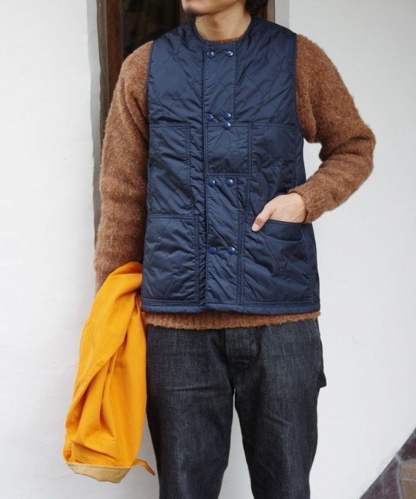 Sassafras/ササフラス Leaf Blower Vest - Nylon Quilting (全2色)
