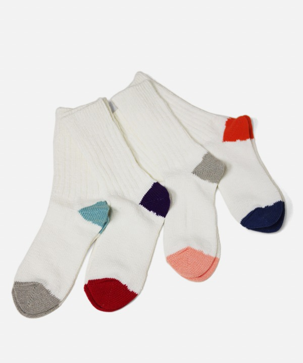 Ro To To/ロトト MAX WEIGHT WHITE SOCKS