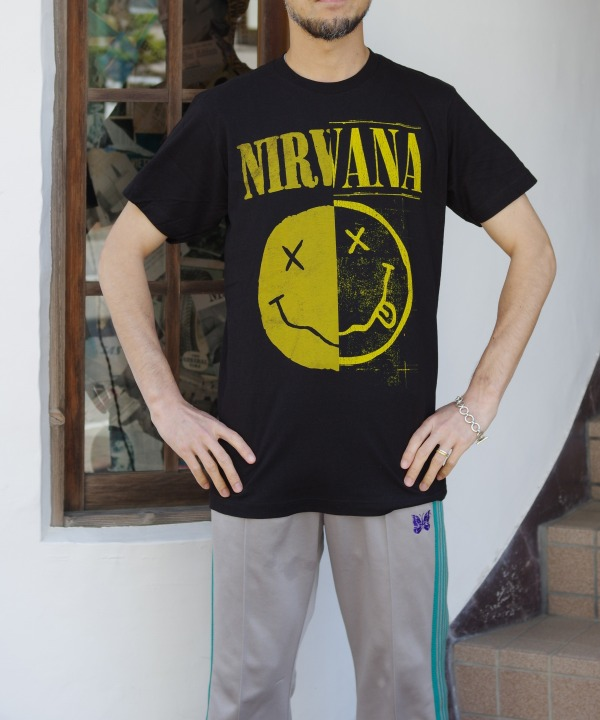 "MUSIC TEE - NIRVANA ""SPLIT SMILE"""