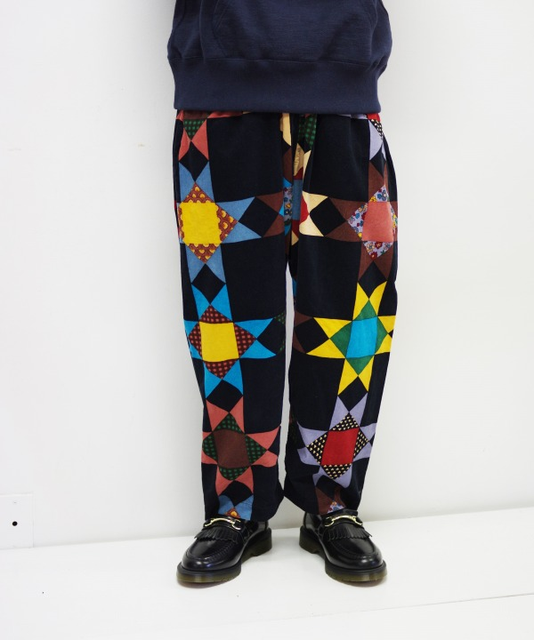 Bohemians/ボヘミアンズ QUILTING BEE CORD LOOSE PANTS