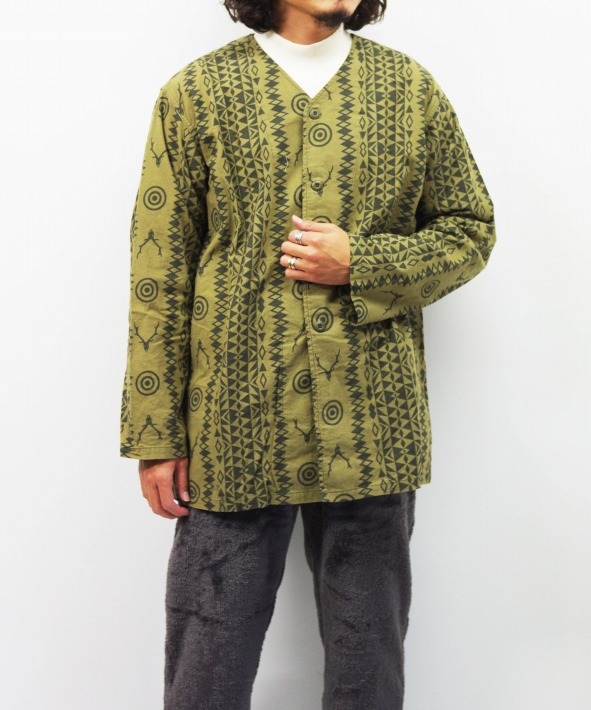 South2 West8/サウス2 ウエスト8 V Neck Army Shirt - Flannel Pt.