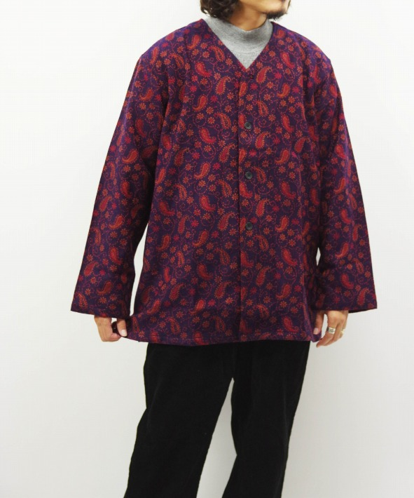 South2 West8/サウス2 ウエスト8 V Neck Army Shirt - India Jq. (全2色)