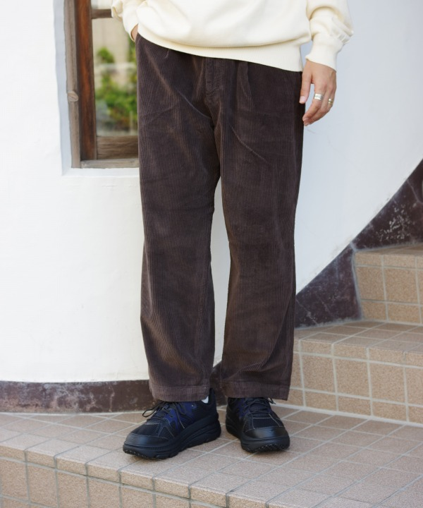 RICCARD METHA/リカルドメッサ WIDE CORDUROY 1TUCK WIDE