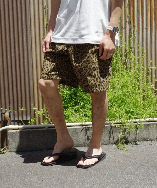A Vontade/ア ボンタージ 1 Tuck Wide Easy Shorts 【MAPSのスペシャル】