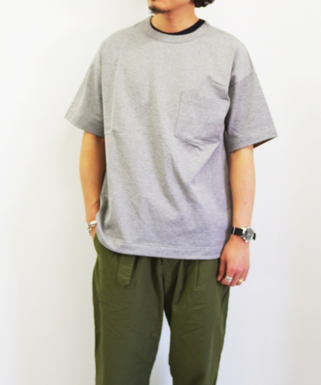 A VONTADE/ア ボンタージ 6oz Silket Athletic T-Shirt (全2色)