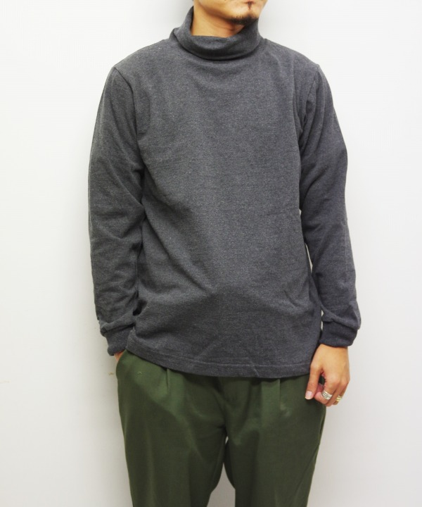BARBARIAN/バーバリアン 8oz LIGHT WEIGHT TURTLE NECK L/S