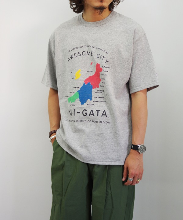 BROKENBLUE x Tee SMILE x MAPS AWESOME CITY TEE(全2色) 【MAPSのスペシャル】