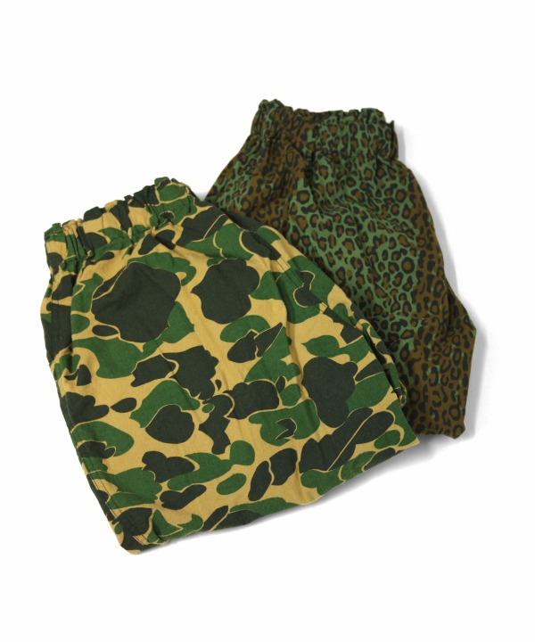 South2 West8/サウス2 ウエスト8 Army String Short - Printed Flannel / Camouflage