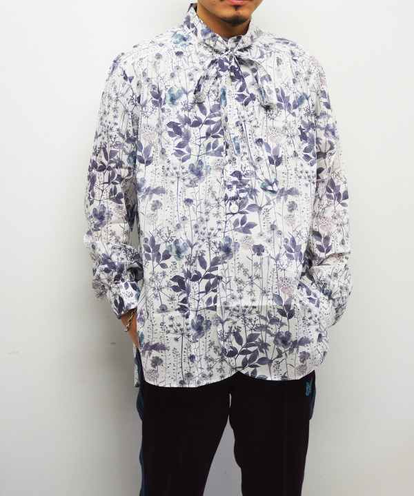 Needles/ニードルズ Ascot Collar EDW Gather Shirt - Liberty Print(全2色)