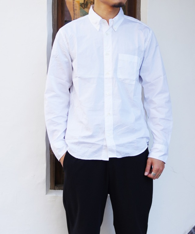 Manual Alphabet/マニュアルアルファベット 100/2 BROAD BD SHT/Suitable Fit - WHITE 【MAPSの定番】