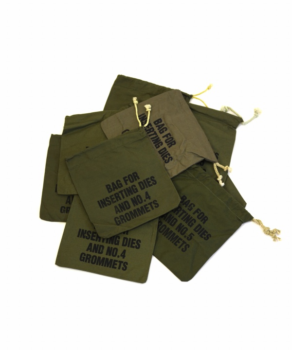 DEAD STOCK/デッドストック Bag For Inserting Dies Grommets