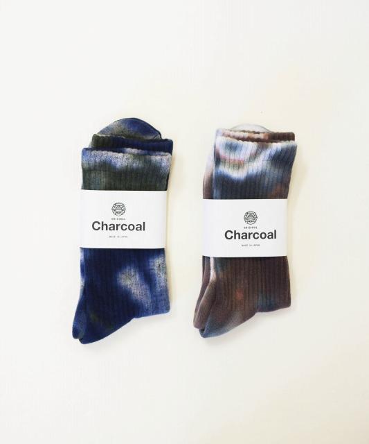 オリジナルチャコール/ORIGINAL CHARCOAL OC Pile Tappered Socks Reg N-Dye Multi