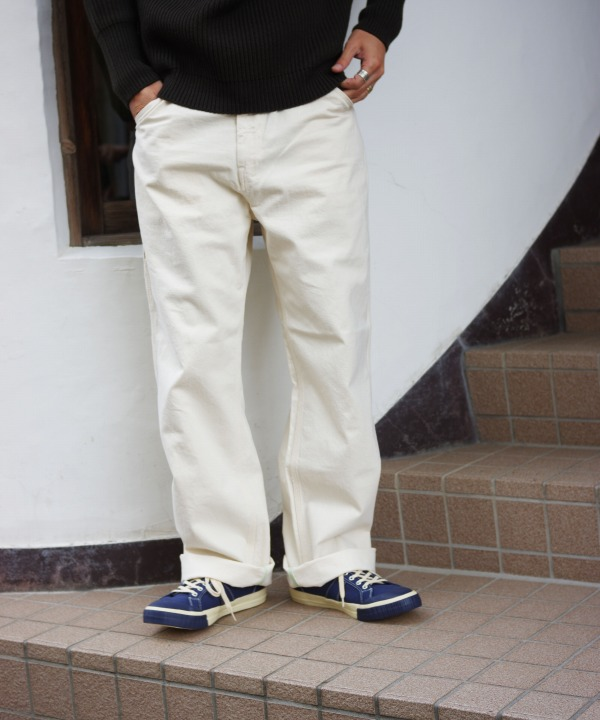 Bohemians/ボヘミアンズ COLOR DENIM PAINTER PANTS