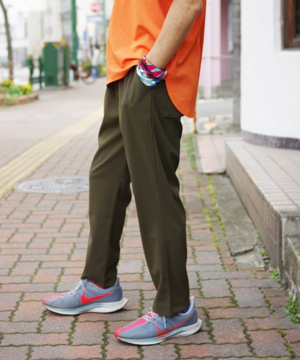 Coochucamp/クーチューキャンプ Happy 4way cropped pants (全2色)