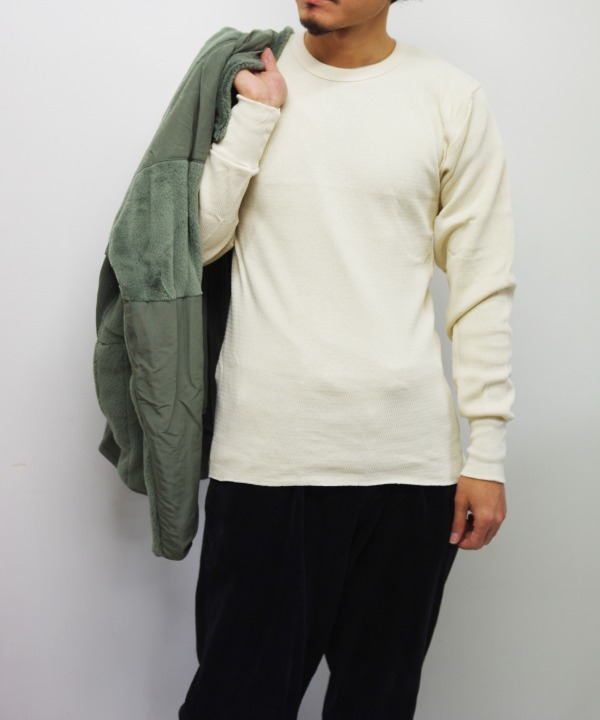 INDERA MILLS/インデラミルズ COTTON RASCHEL TOPS (全2色)