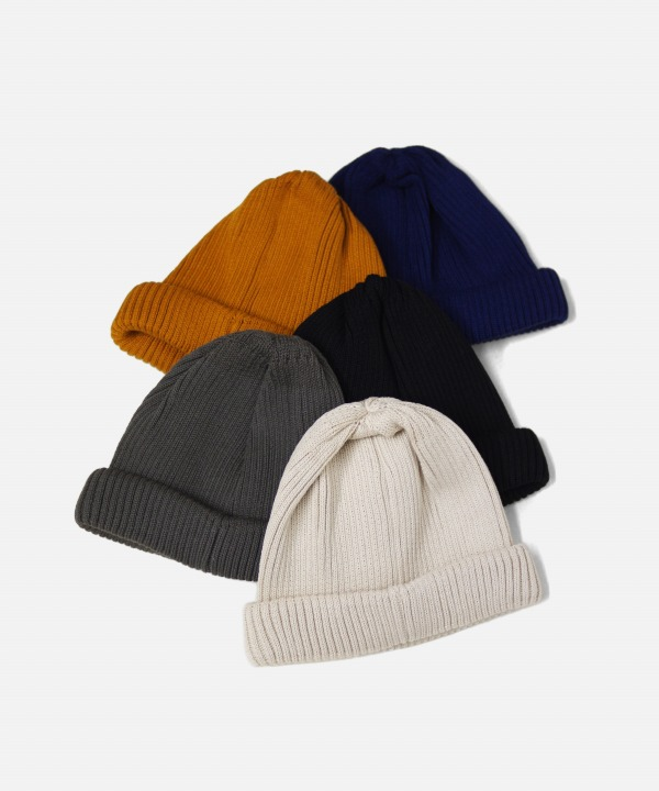 ROTOTO/ロトト COTTON ROLL UP BEANIE