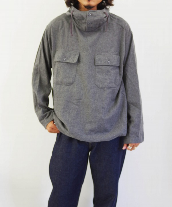 Engineered Garments/エンジニアド ガーメンツ Cagoul Shirt - Brushed Twill