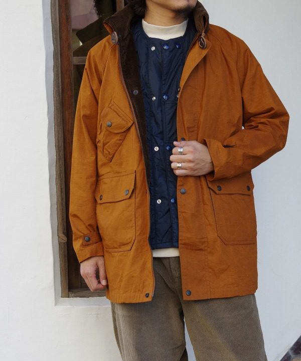 South2 West8/サウス2 ウエスト8 Carmel Coat - Paraffin Coating(全2色)