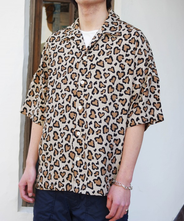 Chah Chah/チャーチャー HEART LEOPARD CHILL  SHIRTS (全2色)