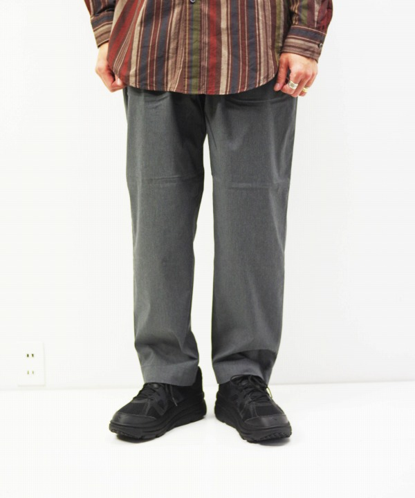 A VONTADE/ア ボンタージ Comfort Wide Easy Trousers (全2色)