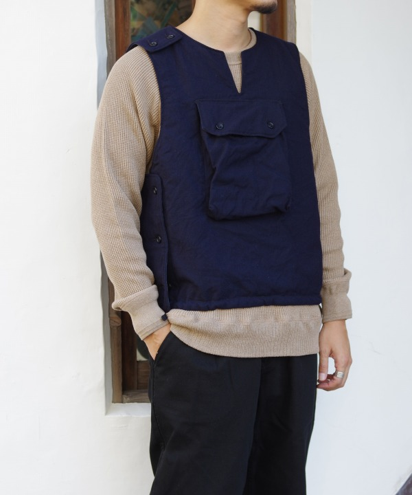 Engineered Garments/エンジニアド ガーメンツ Cover Vest - Uniform Serge