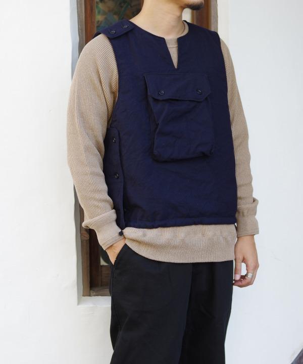 Engineered Garments/エンジニアド ガーメンツ Cover Vest - Uniform Serge
