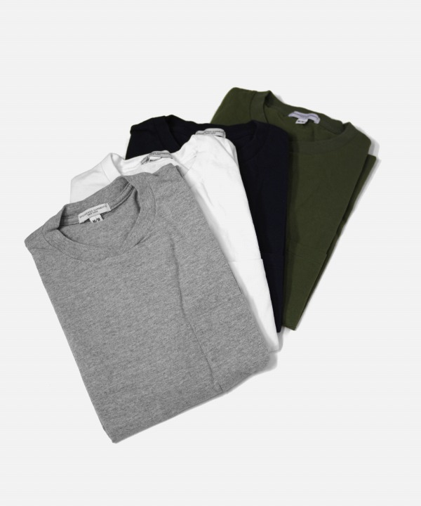 Engineered Garments Workaday/エンジニアド ガーメンツ ワーカデイ Crossover Neck Pocket Tee