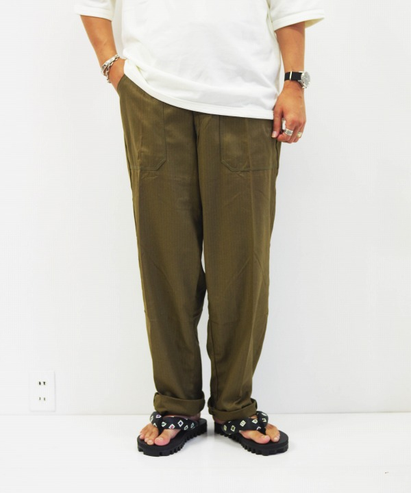 DEAD STOCK/デッドストック Czech Military Cook Pants