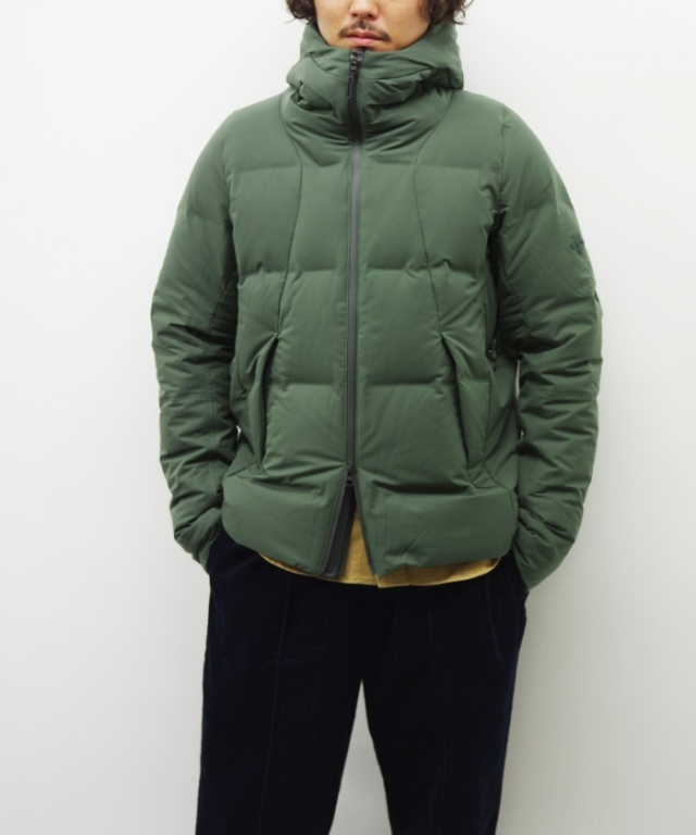 "DESCENTE ALLTERRAIN/デサント オルテライン MIZUSAWA DOWN JACKET ""SHUTTLE"" - RUSTY GREEN"