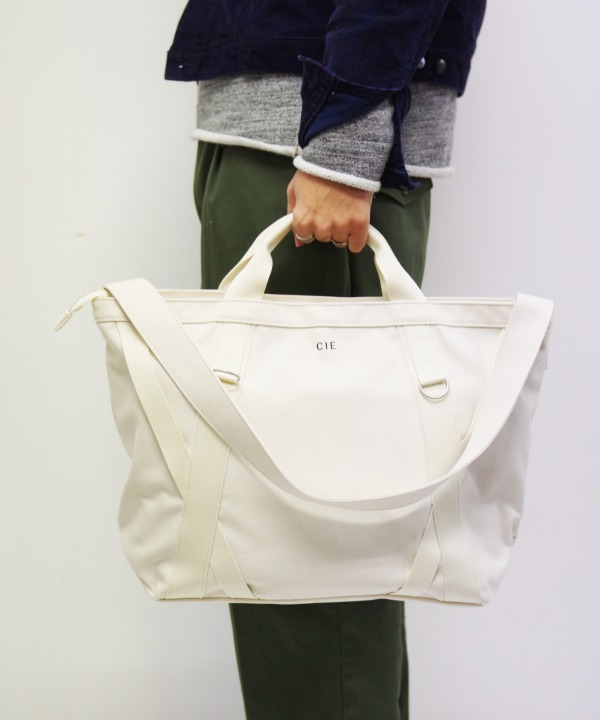 CIE/シー DUCK CANVAS TOTE - L (全3色)【MAPSの定番】