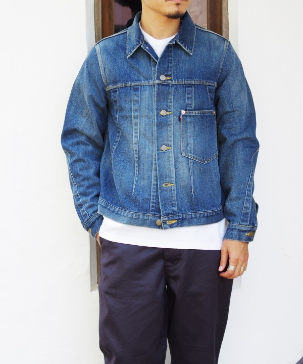 Needles/ニードルズ Darts Jean Jacket - 12oz Denim / Vintage