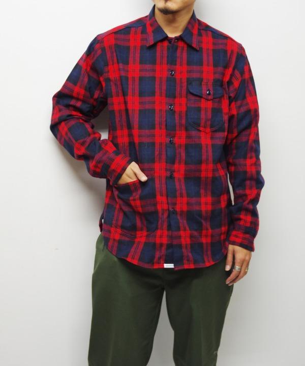 Sassafras/ササフラス Diggin Shirt - Tartan Check
