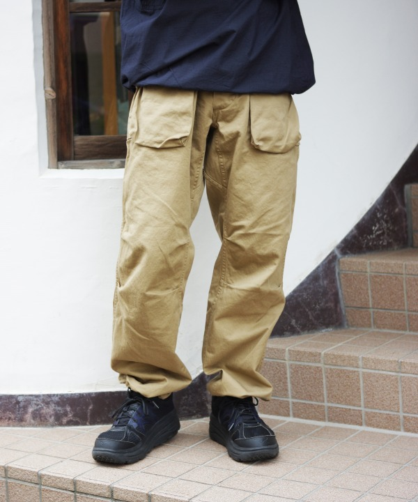 Sassafras/ササフラス Digs Crew Pants - Chino (全2色)