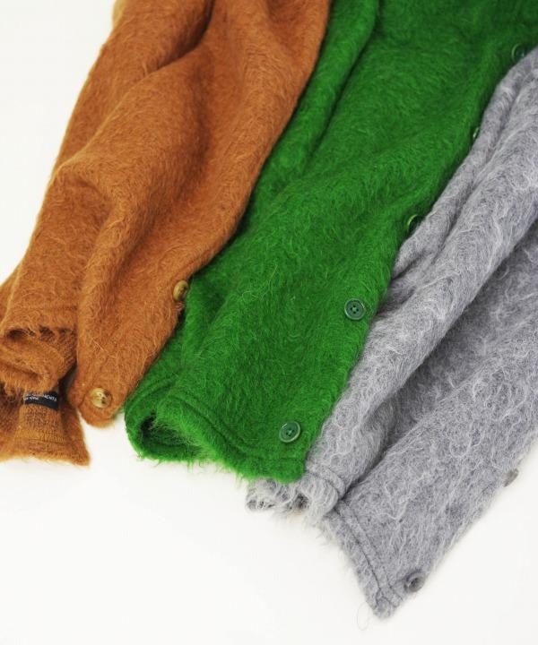 エンジニアド ガーメンツ/Engineered Garments  Button Shawl -Solid Mohair
